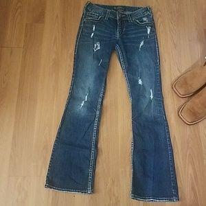 Women's Silver Jean's